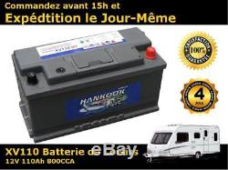 110ah Battery Leisure Discharge Slow 12v Lfd90