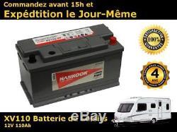 110ah Battery Leisure Loose Discharge 12v Varta Lfd90