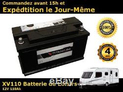 110ah Battery Leisure Slow Discharge Varta Lfd90