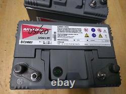 2 Slow Battery Discharge 80ah Hankook