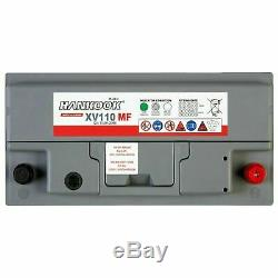 2x 12v 110ah Leisure Battery Discharge Slow Boat To Camping Car Caravan
