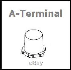 2x Battery Slow Discharge Boat Varta Lfd180 12v 180ah 513 X 223 X 223mm