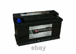 2x Titanium Xv110 Battery Slow Discharge For Caravan And Camping Car 12v 110ah