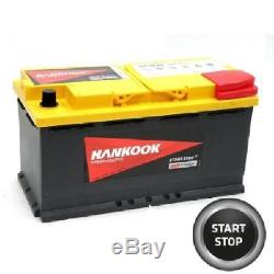 95ah Agm Battery Slow Discharge Birding / Camping Car 12v Lfd90 Fast Delivery