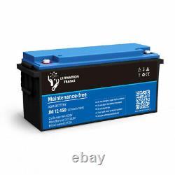 Battery 150ah 12v Agm Discharges Lente-ultimatron