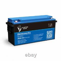 Battery 150ah 12v Gel Discharge Slow-ultimatron