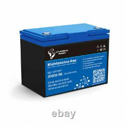 Battery 50ah 12v Gel Discharge Slow-ultimatron