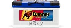 Battery Banner Energy Bull 95751 Camping Car Slow Discharge 12v 100ah