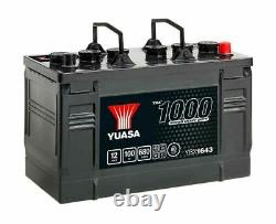 Battery Boat, Truck, Slow Discharge Yuasa Ybx1643 643hd 12v 100ah 680a