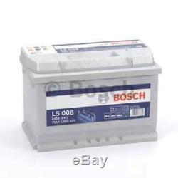 Battery Bosch 75ah 650a Bosch L5008