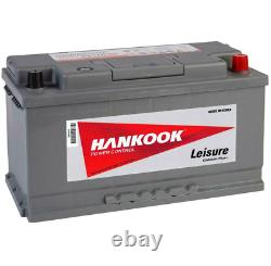 Battery Discharge Lent Hankook Xv110 12v 110ah For Caravan Camping-car En