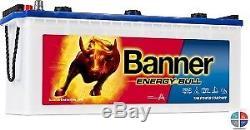 Battery Slow Discharge 12v 130ah C20 Banner Energy Bull 96051