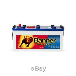 Battery Slow Discharge Banner Energy Bull 96801 12v 230 Ah