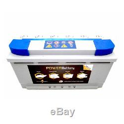 Battery Slow Discharge Camping Car Boat 12v 105ah Agm 353x175x190mm