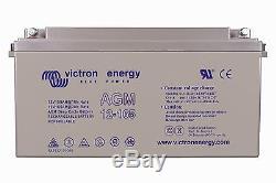 Battery Slow Discharge Camping Car Boat Agm Victron 12v 165ah Bat412151080