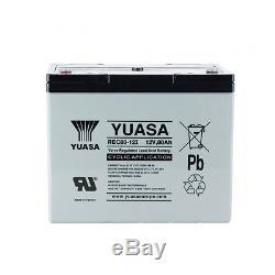 Battery Slow Discharge Camping Car Boat Yuasa 12v 80ah Rec80-12 259x168x212mm
