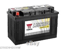 Battery Slow Discharge Camping Car Boat Yuasa L35-100 12v 100ah 350x174x224mm