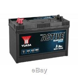 Battery Slow Discharge Yuasa M31-100 Marine 12v 100ah