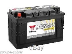 Battery Slow Release Camping Car Boat Yuasa L35-90 12v 90ah 350x174x225mm