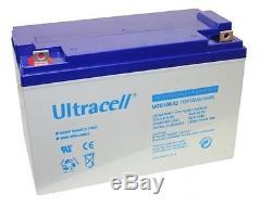 Battery Ucg100 Slow Discharge / Solar Gel 12v 100ah