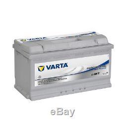 Battery Varta Lfd90 Auxiliary Motorhome 12v 90ah Slow Discharge