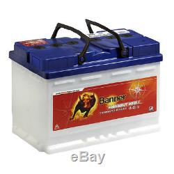Boat Battery Banner Energy Bull 95751 12v 100ah With Slow Discharge