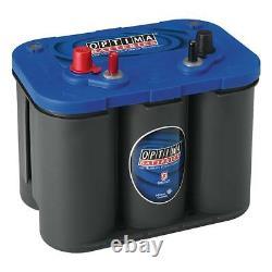 Boat Battery Optima Btsli4.2 Blue Top Agm Spiral 12v 50ah 815a 254x175x200mm