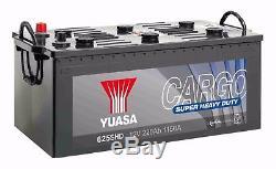 Boat Battery Slow Discharge 625shd 12v 220ah 1150a Yuasa Shd
