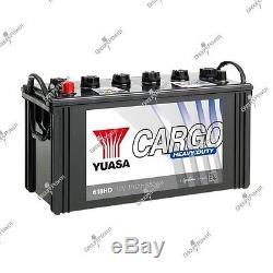 Boat Battery, Truck, Slow Discharge 618hd 12v 110ah 650a Yuasa Hd