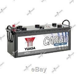 Boat Battery, Truck, Slow Discharge 627hd 12v 120ah 675a Yuasa Hd
