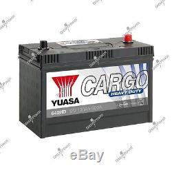 Boat Battery, Truck, Slow Discharge 640hd 12v 100ah 900a Yuasa Hd
