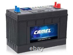 Camel Dc31 110ah Slow-discharge Recreational Battery For Camping-cars, Boats