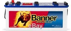 Camper Battery Slow Discharge Banner Energy Bull 96351 12v 180ah