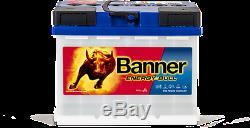 Camping Car Battery Banner Energy Bull 95501 12v 60 Ah Slow Discharge
