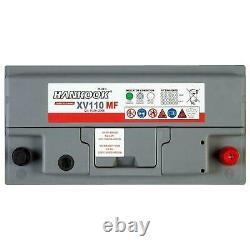 Discharge Battery Lent Hankook Xv110 For Caravan & Camping Car 12v 110ah