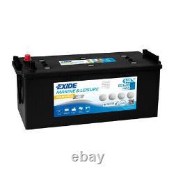 Exide Marine Equipment Es1600 Discharge Slow Gel 12v 140ah