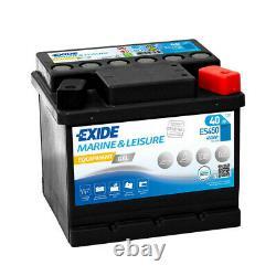 Exide Marine Equipment Es450 Discharge Slow Gel 12v 40ah