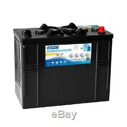 Exide Marine Equipment Gel Es1300 Slow Discharge 12v 120ah