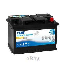 Exide Marine Equipment Gel Es650 Slow Discharge 12v 56ah