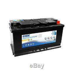 Exide Marine Equipment Gel Es900 Slow Discharge 12v 80ah