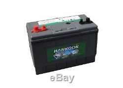 Hankook 100ah Battery Discharge Slow 4 Year Warranty Marine