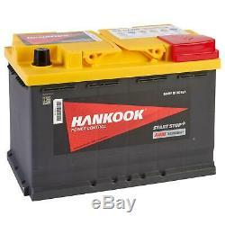 Hankook Sa57020 Agm Battery Discharge To Slow Boat Caravan Car