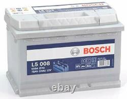 L5008 Battery Slow Discharge 12v, 75 Ah, 650a Leisure, Camping-cars Boats