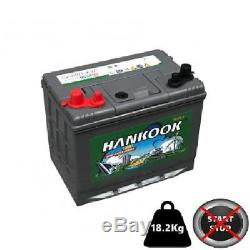 Marine Battery Slow Discharge 80ah 500 Cycles Of Life Dc24mf Hankook