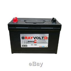 Rayvolt Marine Discharge 12v 110ah Battery Slow