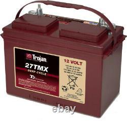 Slow Battery Discharge Trojan 27tmx 12v 105ah