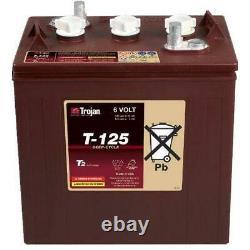 Slow Battery Discharge Trojan T125 6v 240ah