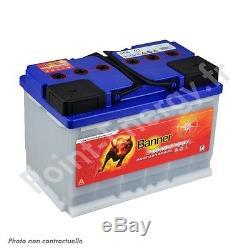 Slow Discharge Battery Banner Energy Bull 95601 12v 80ah