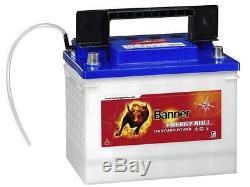 Slow Discharge Battery Boat Banner Energy Bull 95501 12v 60 Ah
