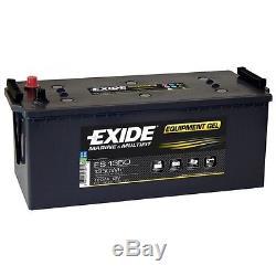 Slow Discharge Battery Exide Equipment Gel Es1350 12v 120ah 513x189x223mm